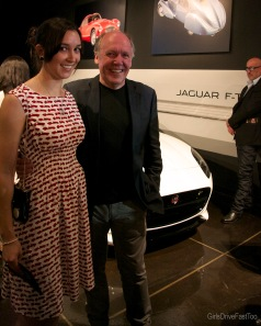 Me with Ian Callum!