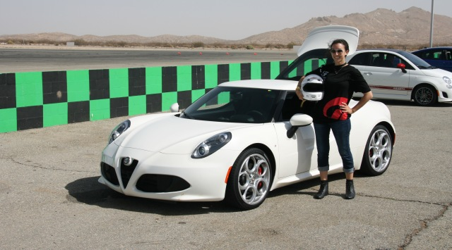 Toni w Alfa 4C